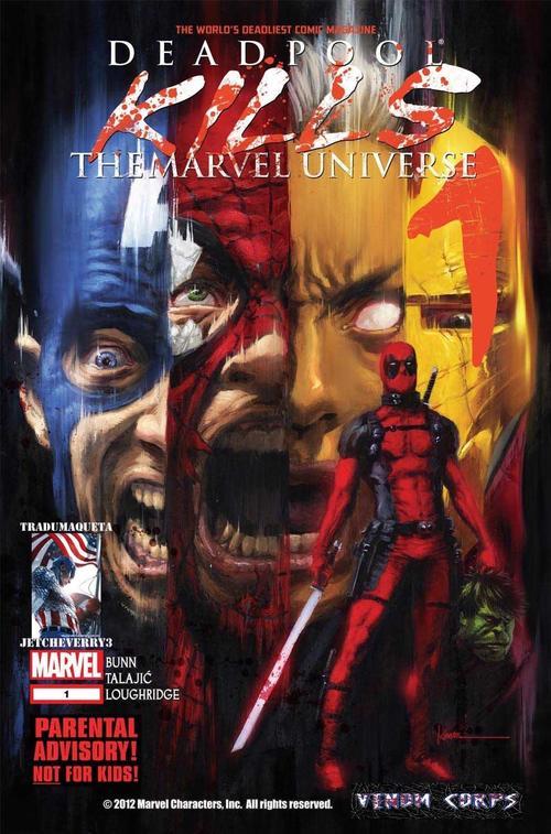 La portada del cómic ¨Deadpool mata el Universo de Marvel¨.  (Foto: k43.kn3.net)