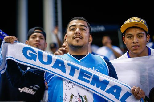 Los guatemaltecos acudieron de nuevo a la cita para ver a su país jugar. (Foto: Nuestro Diario)