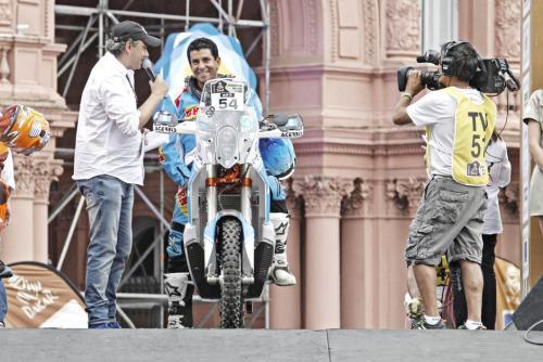 Arredondo ha hecho una tradición competir en los Rallys Dakar. Es el representante de Guatemala. (Foto: Cortesía)