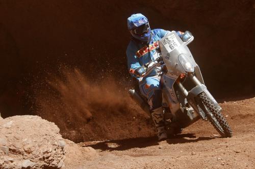 Arredondo compite en su edición 12 del Rally Dakar. (Foto: Francisco Arredondo)