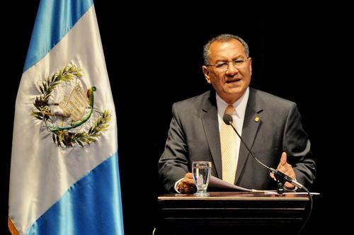 Arístides Crespo también lideró la bancada del Partido Patriota durante la actual legislatura. (Foto Esteban Biba)