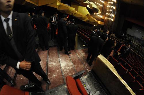 El Teatro Nacional fue escenario del atentado contra la vicepresidenta Roxana Baldetti. (Foto: Esteban Biba/Soy502)