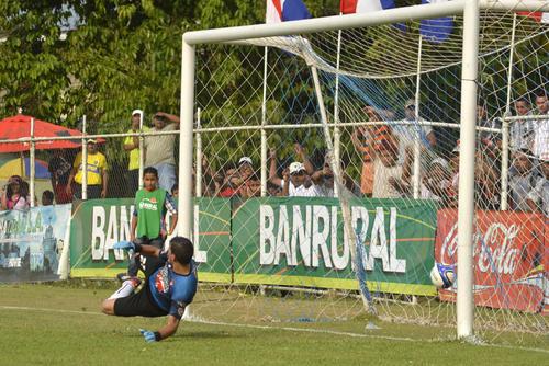 Heredia superó 5-2 a Coatepeque en el estadio Del Monte de Morales, Izabal. (Foto: Nuestro Diario)