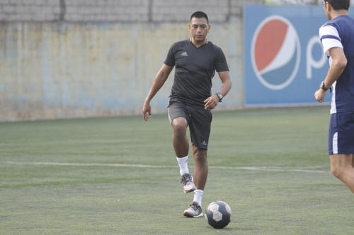 Walter López es uno de los mejores árbitros guatemaltecos en la actualidad. (Foto: Pedro Pablo MIjangos/Soy502)