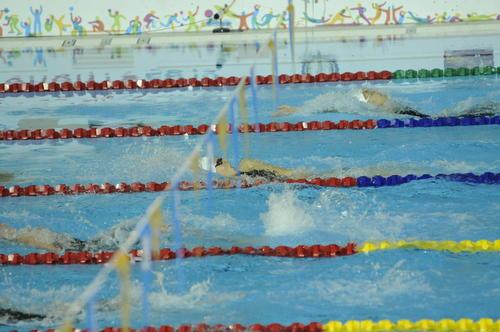 Gisela disputó la final de los 100 metros dorso. (Foto: Pedro Pablo Mijangos/Soy502)