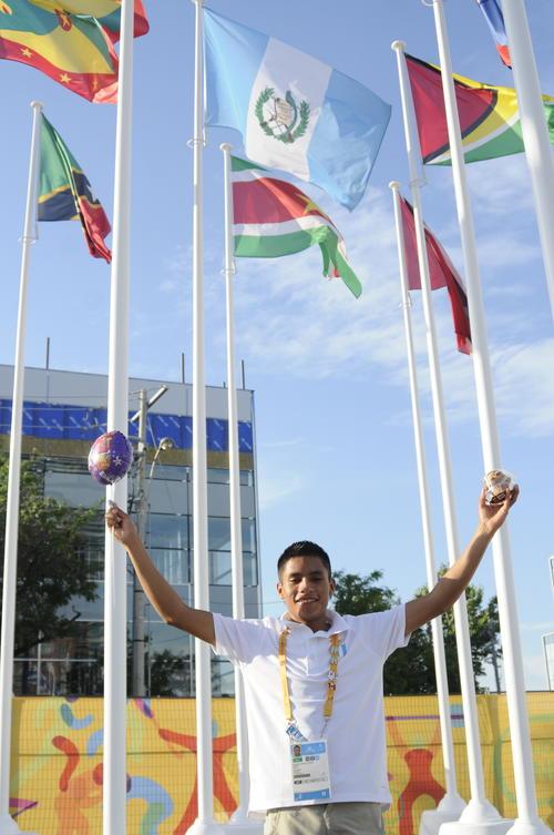 Mario Pacay debutará en Toronto, en Juegos Panamericanos. (Foto: Pedro Pablo Mijangos/Soy502)