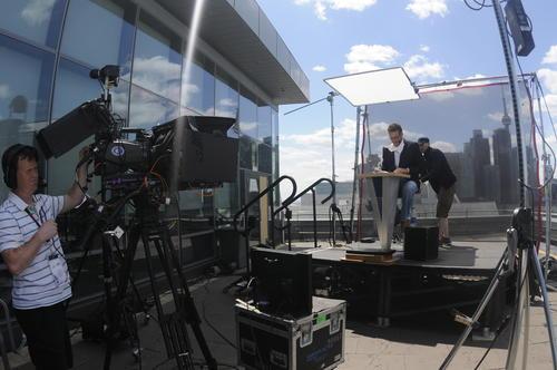 Las instalaciones de ESPN están ubicadas a la orilla del lago de Ontario. (Foto: Pedro Pablo Mijangos/Soy502)