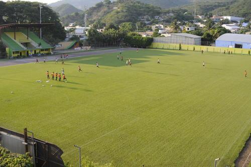 Panorámica del estadio David Cordón Hichos. (Foto: Pedro Pablo Mijangos/Soy502)