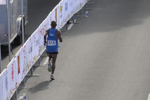 Con el número 515 compitió Amado García, quien en 2007 ganó medalla de plata. (Foto: Pedro Pablo MIjangos/Soy502)