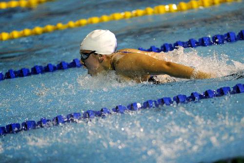 Con 16 años, Valerie Gruest logró marca B, para Río 2016, en la especialidad de 800 metros libres. (Foto: Archivo/Soy502)