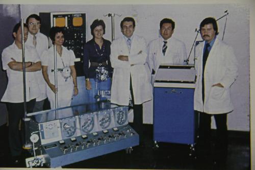 Las primeras operaciones se realizaron en instalaciones del hospital Roosevelt a partir de 1976. Ahí permaneció hasta 1994. (Foto: Memorias del doctor Raúl Cruz Molina)