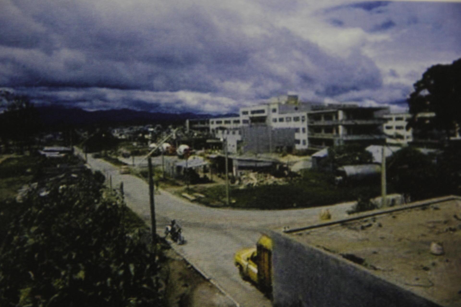 Los trabajos duraron más de 10 años hasta que Unicar se trasladara oficialmente a su nueva sede. (Foto: Memorias del doctor Raúl Cruz Molina)