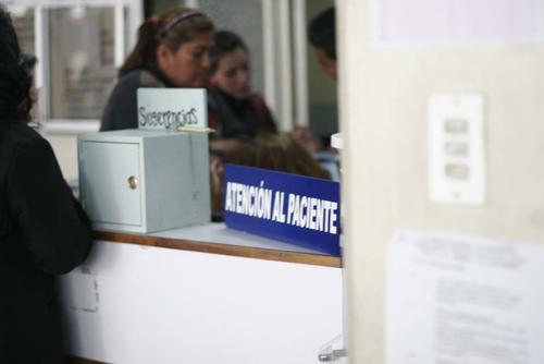 La atención al cliente permanece vacía en el Incan, ya que aún no pueden recibir nuevos pacientes. (Foto: José Dávila)