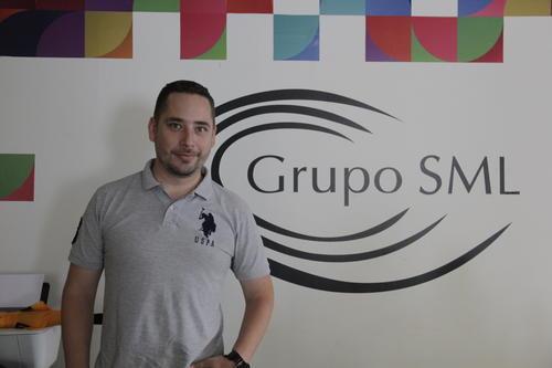 Sergio Heer también es otro de los primeros emprendedores que crecieron en el Campus Tec. Ahora espera ser un buen guía para la nueva generación de gente innovadora de Guatemala. (Foto: Fredy Hernández/Soy502)