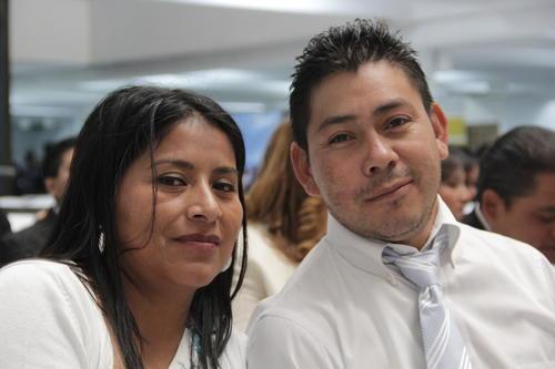 Guadalupe Cian y Julio Urizar están felices de casarse un 14 de febrero. (Foto: Javier Lainfiesta/Soy502)