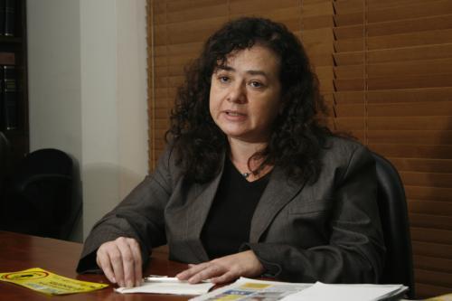 La figura de la fiscal Claudia Paz y Paz ha polarizado a la sociedad. (Foto: Nuestro Diario).