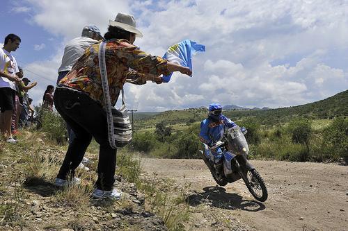 Cerca de la meta; Arredondo logró culminar otro Rally Dakar en Argentina. (Foto: Francisco Arredondo)