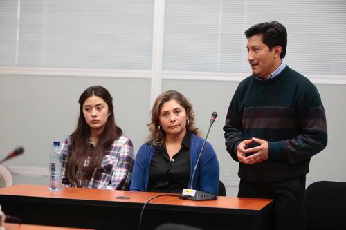 El abogado de las señaladas pidió medidas de seguridad y el juez las benefició con seguridad perimetral en su vivienda. (Foto: René Ruano/Nuestro Diario)