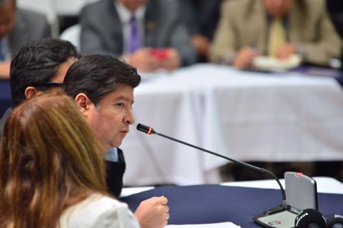 El abogado Luis Montiel, que fue citada para declarar por el caso Cooptación del Estado aseguró que la empresa Pixel no es una fachada. (Foto: Jesús Alfonso/Soy502)