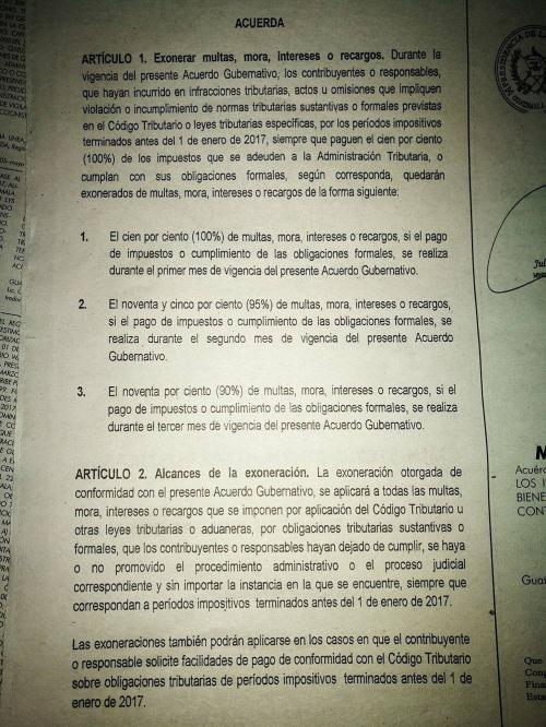 Este es el acuerdo gubernativo publicado en el Diario Oficial este viernes.