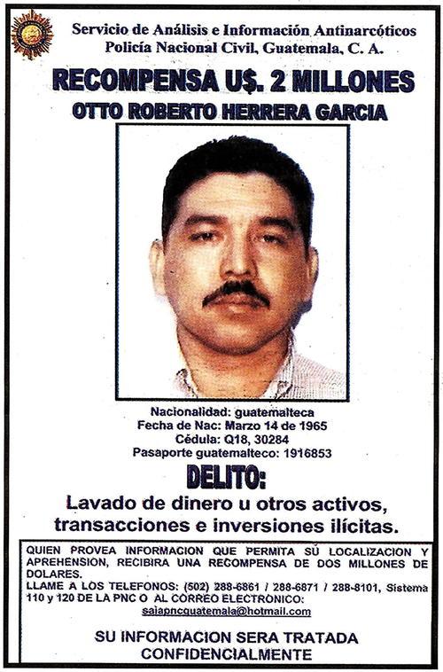 Otto Herrera fue uno de los narcotraficantes más buscados del mundo.