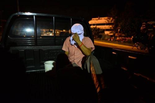 El agresor estaba armado en una actividad planificada como pacífica y de oración.  (Foto: Wilder López/Soy502)