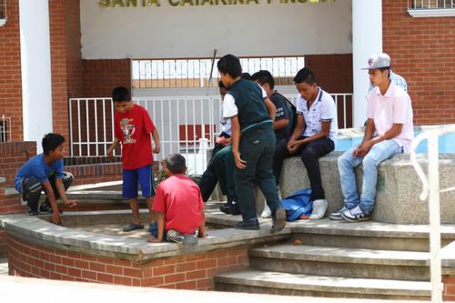 Las calles de Santa Catarina respiran normalidad después de un año del suceso. (Foto: Alejandro Balán/Soy502)