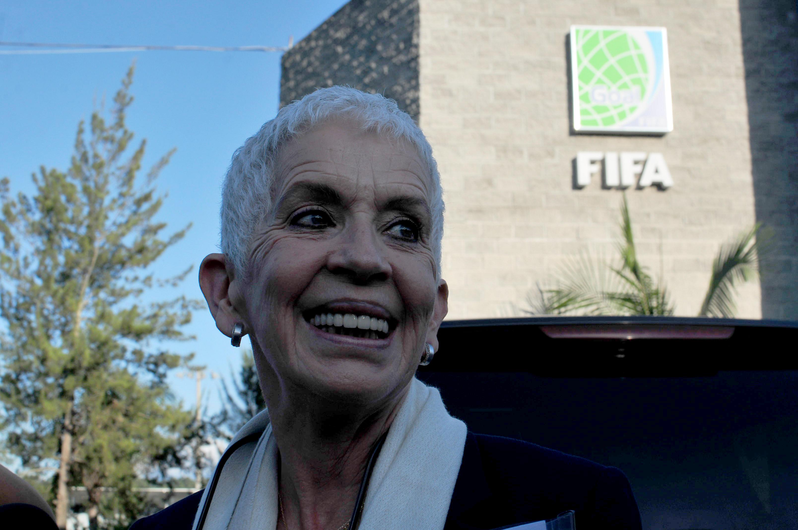 Adela de Torrebiarte preside el Comité Regulador de la Fedefutbol. (Foto: Alejandro Balán/Soy502)