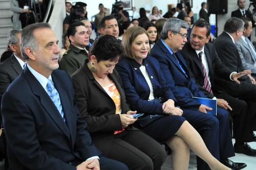 Cabrera participó en la inauguración de nuevos órganos jurisdiccionales del grupo de Mayor Riesgo C, en la Corte Suprema de Justicia (CSJ). (Foto Alejandro Balán/Soy502)
