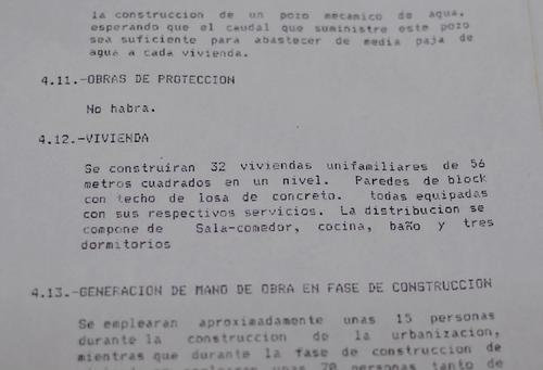 En la imagen se detalla que no existirán obras de protección.  (Foto: Alejandro Balán/Soy502)