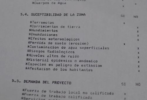 En el documento se indica que la zona no es susceptible a cuestiones naturales.  (Foto: Alejandro Balan/Soy502)