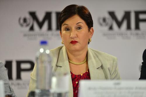 La fiscal General del MP, Thelma Aldana, señaló que un embajador asiático se reunió con ella para intentar explicarle que los empresarios asiáticos actuaban de buena fe. (Foto: Archivo/Soy502)