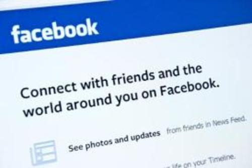 La web de la red social Facebook, en una imagen tomada el 30 de enero de 2014 en Washington (foto: AFP/Archivos, Karen Bleier)