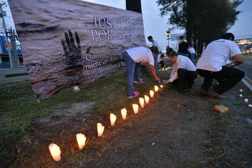 La actividad se realizó en un kilómetro de la Aguilar Batres frente a las instalaciones del Liceo Javier. (Foto: Archivo/Soy502)