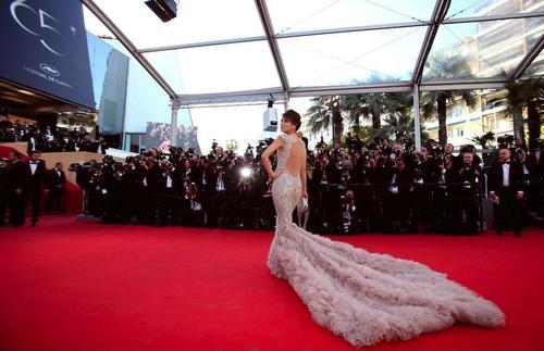 La alfombra roja de Cannes es una de las más elegantes. (Foto: blogcouture)