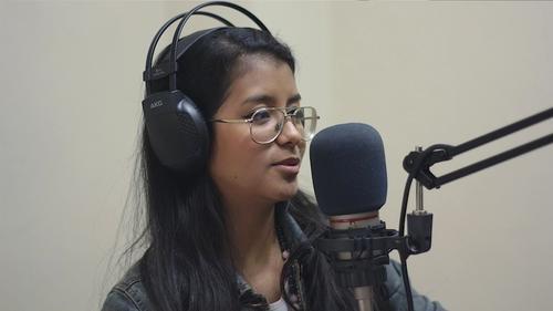 Andrea Castro es la voz que acompañará a los oyentes de Sónica 106.9. (Foto: José Ramírez)
