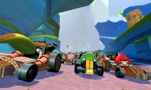 Los gráficos en 3D que Rovio Enterteiment incluyó en Angry Birds Go! promete complacer las exigencias de todos los gamers. (Foto: Rovio)