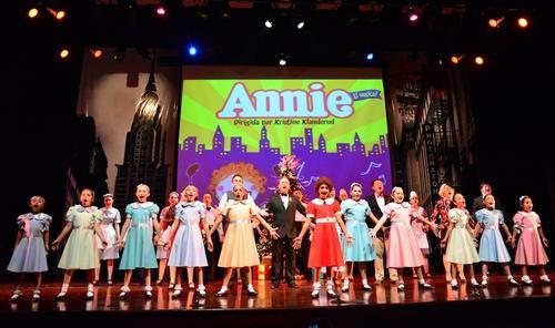 La primera temporada de Annie el Musical se celebró en el año 2012. (Foto: facebbook/Annie el Musical oficial)