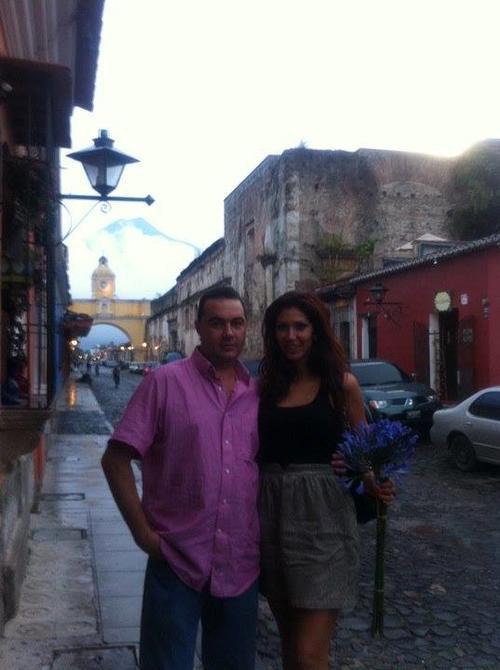 En la ciudad de Antigua Guatemala Anett Pikula ha estado en varias ocasiones.  (Foto: Facebook/Anett Pikula)