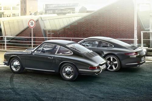 La edición especial del Porsche 911 busca mantener la línea del modelo original.
