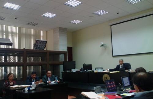 Imagen de la sala facilitada por Ministerio Público.