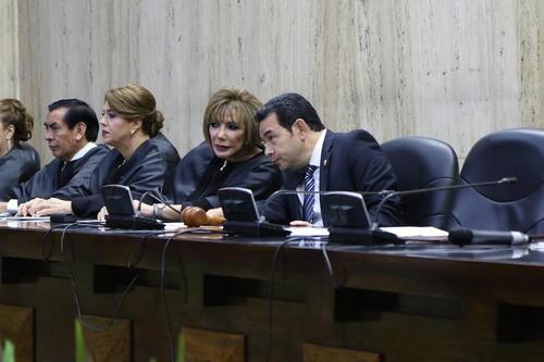 En el último año se efectuó un acercamiento entre Ejecutivo, Corte Suprema y Congreso. (Foto: Jesús Alfonso/Archivo Soy502)