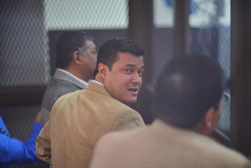 Jeffry Mendoza Tally en la sala de audiencias del juzgado B de Mayor Riesgo. (Foto: Jesús Alfonso/Soy502)