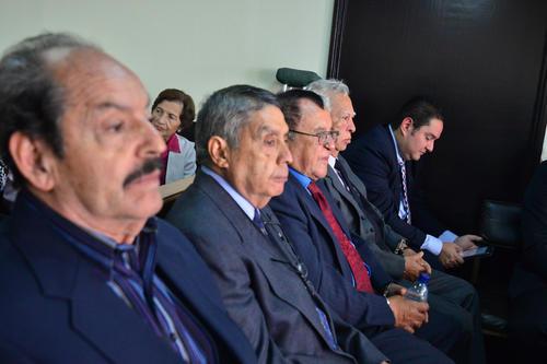 Los cuatro militares retirados fueron capturados el 6 de enero de 2016. (Foto: Archivo/Soy502)