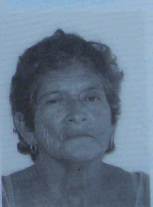 Imagen del Documento Personal de Identificación (DPI) de Aura Leticia Mata Lobos, de 66 años. (Foto: Cortesía de Nuestro Diario)