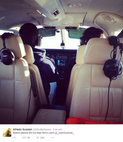 """Según los medios internacionales, señalan que la foto donde aparentemente va """"El Chapo"""", se parece mucho a la que subió uno de sus hijos en enero pasado. (Foto: El Blog del Narco)"""