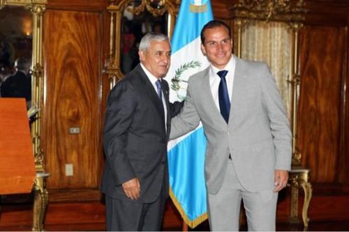 """""""El Tanque"""", Dwight Pezzarossi, se convirtió en el Comisionado Presidencial para el Deporte. (Foto: Twitter)."""
