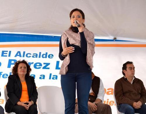 Alonzo ha promocionado su imagen desde que ingresó a la alcaldía de Mixco y ahora busca ser electa diputada al Congreso. (Foto: MuniMixco)