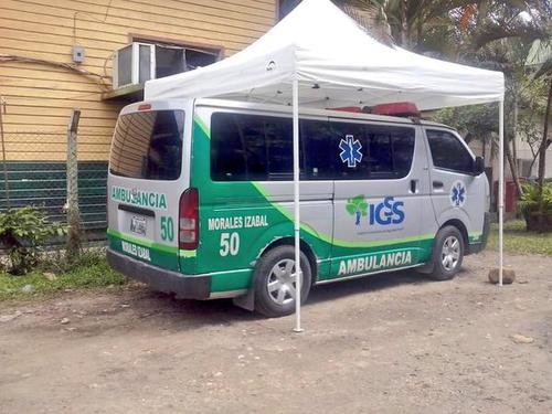 El desvío de fondos se realizó a a través de un proyecto de construcción del IGSS en Morales, Izabal. (Foto Twitter/@NoticiasIzabal)