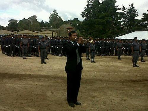 Los actos se realizaron en el complejo de Fraijanes. Foto Mingob